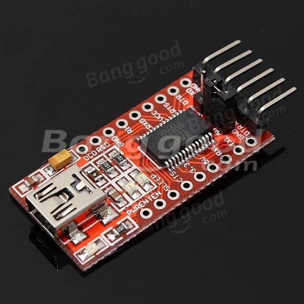FT232RL usb ftdi a TTL módulo adaptador convertidor de serie para arduino - €2.58