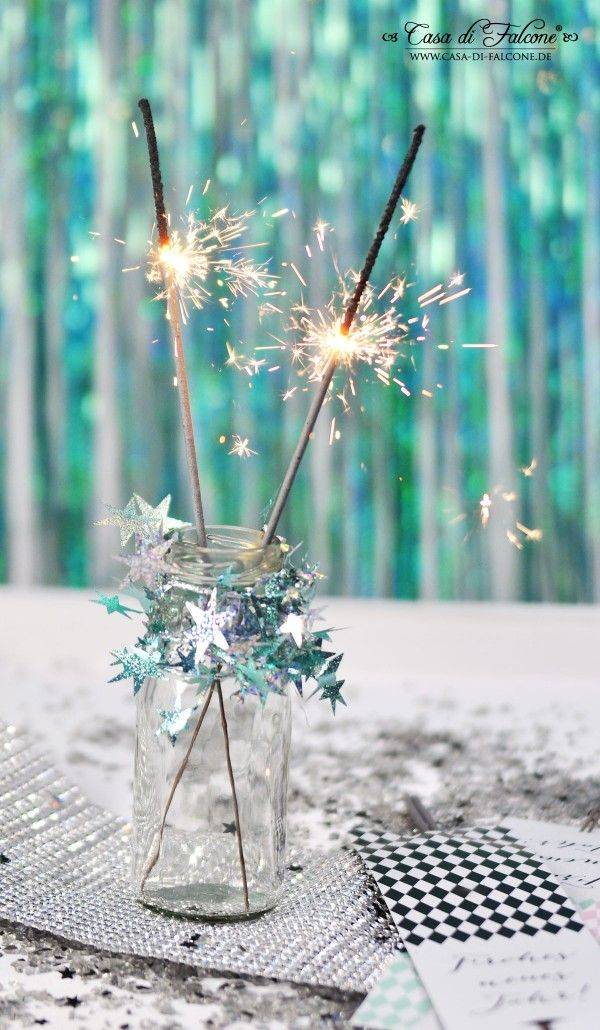 Silvesterparty I Silvesterdeko I Silvesterideen I New Years Eve I Free printable I Casa di Falcone