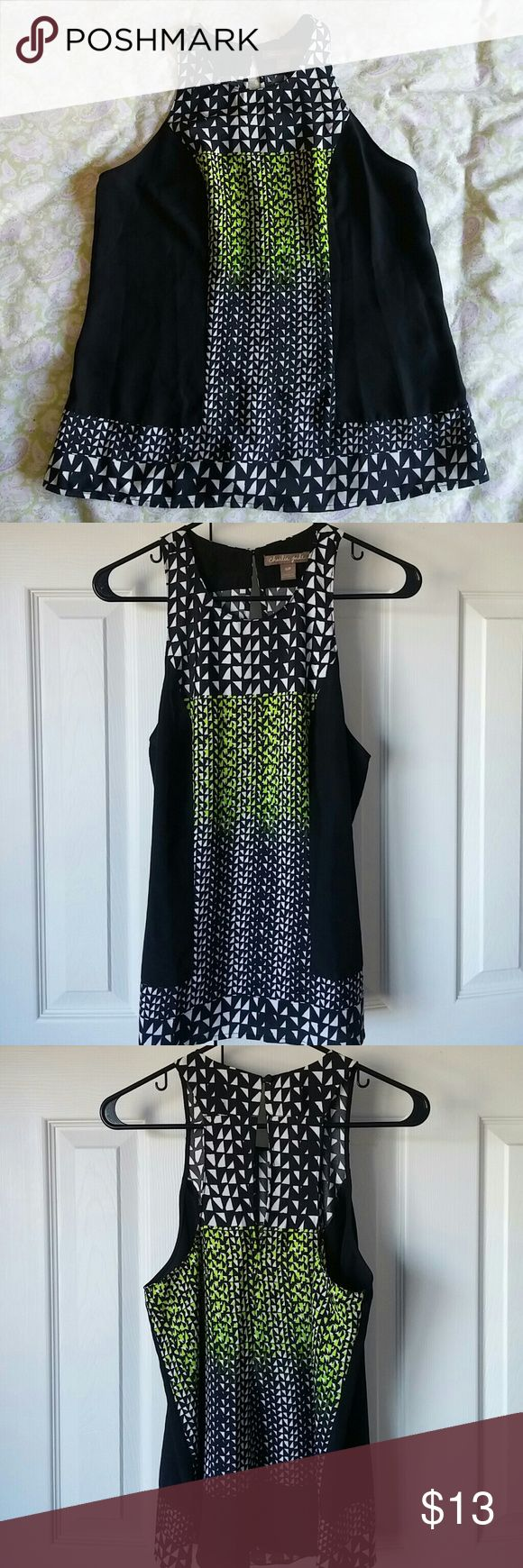 Charlie Jade Top Excellent condition, no flaws or stains. Used once. 100% polyester Charlie Jade Tops Tank Tops