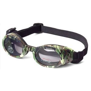 Camo doggles so your doggy can go on your motorcycle with you. They need eye protection too to stay safe!