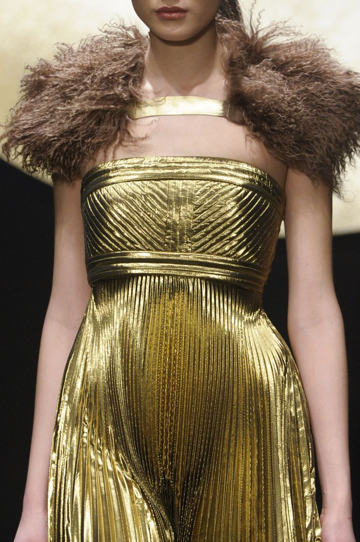 Krizia MFW Fall 2012: Krizia Fall, Fashion Details, Fall 2012, Completely Crazy, Dresses Formal, Solid Gold, Fashion Designers