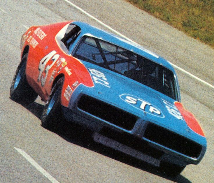 Richard Petty - My Dad always listened to Nascar races on the radio on Sundays. He used to take me to lots of the races. His fave was Richard Petty.