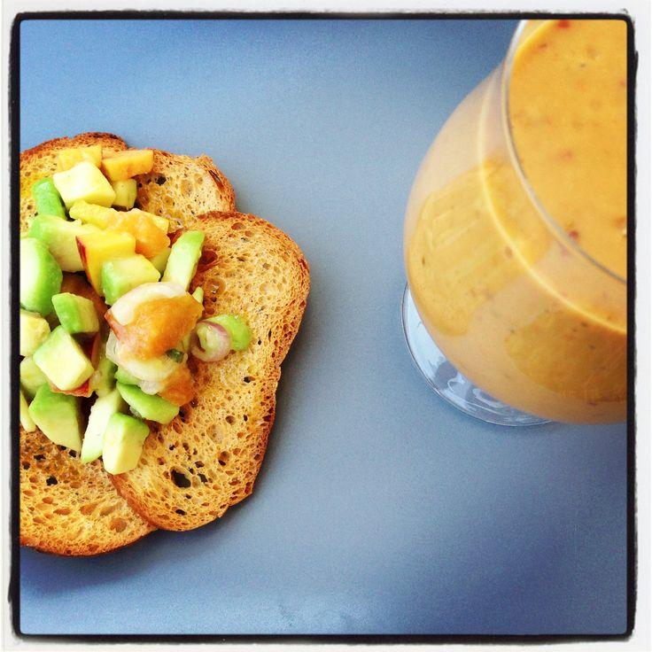 Fresh fruitsmilkshake