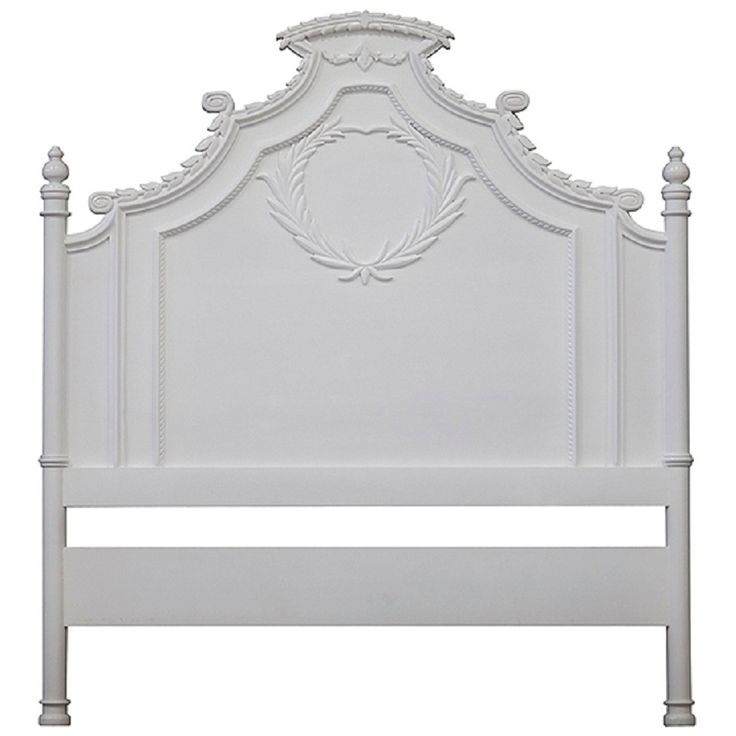 French Louis XV Provincial Farmhouse Headboard Queen | From a unique collection of antique and modern beds at https://www.1stdibs.com/furniture/more-furniture-collectibles/beds/