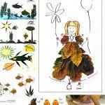 Колажи+от+есенни+листа