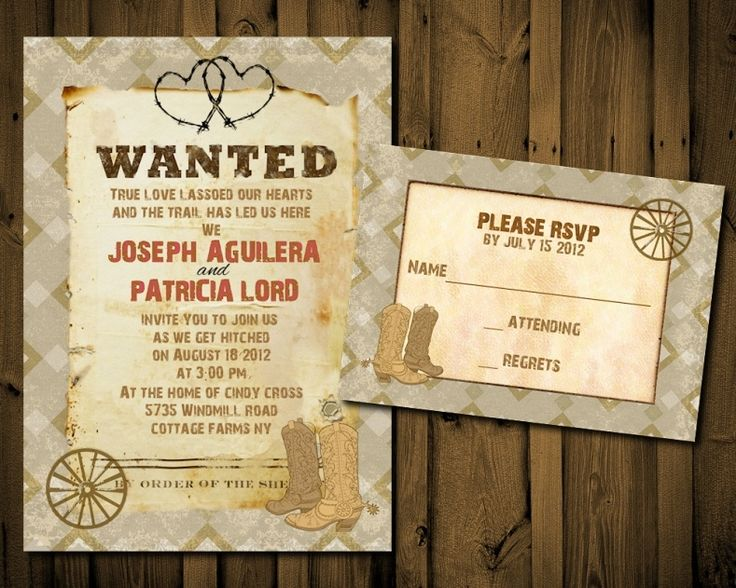 Western Wedding Invitations Templates: Best 25+ Western Wedding Invitations Ideas On Pinterest