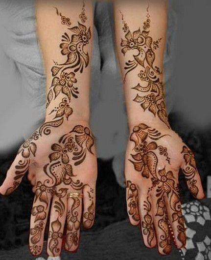 Bridal Mehandi Designs For Hand