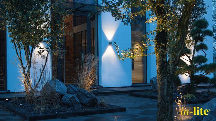 ACE UP-DOWN 100 - 230V | Wandlamp | Design | Outdoor lighting | buitenspot SCOPE | Strak lichtbeeld | Tuinverlichting | Voordeurlamp | Inspiratie