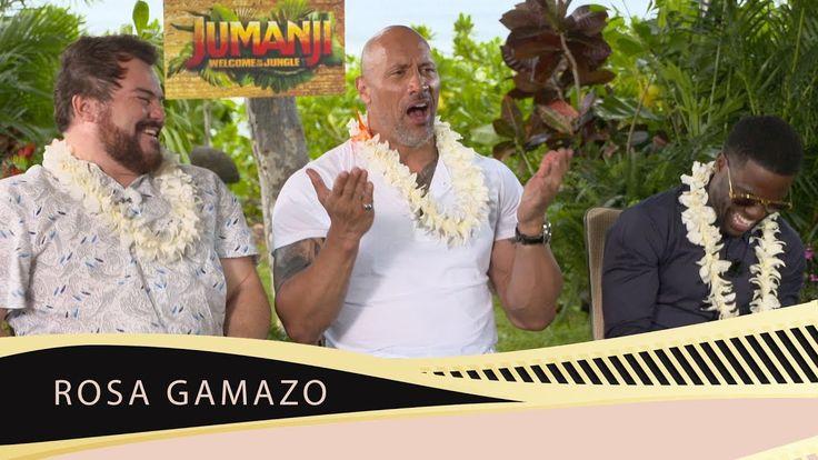 "Dwayne Johnson, Kevin Hart, Jack Black: ""Hollywood Is The Ultimate Game"""