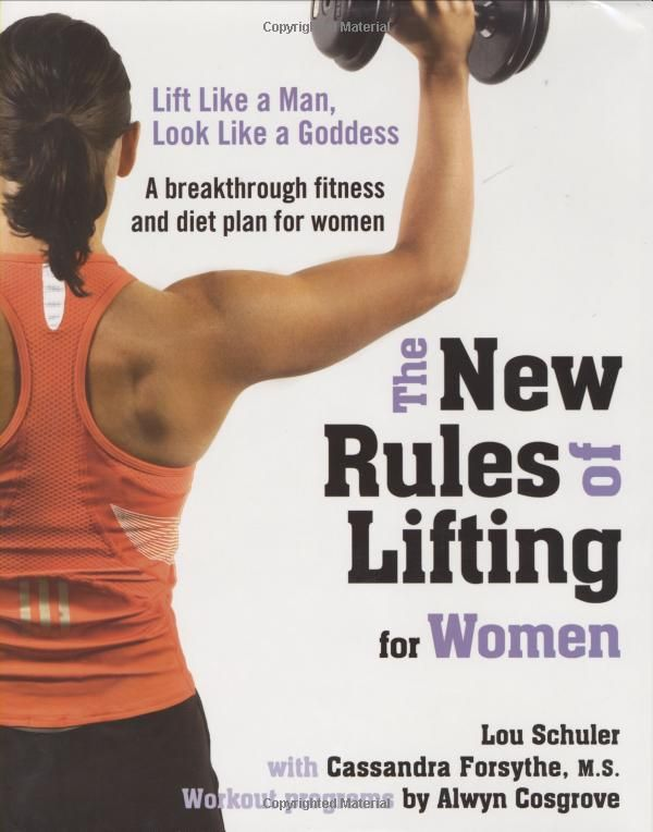 This is THE book for women interested in the new sexy:  being strong!