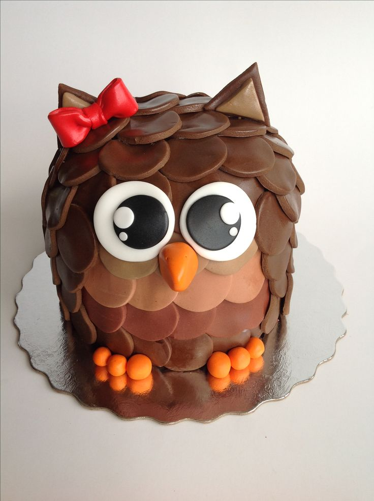 Birthday Cake Ideas Owls