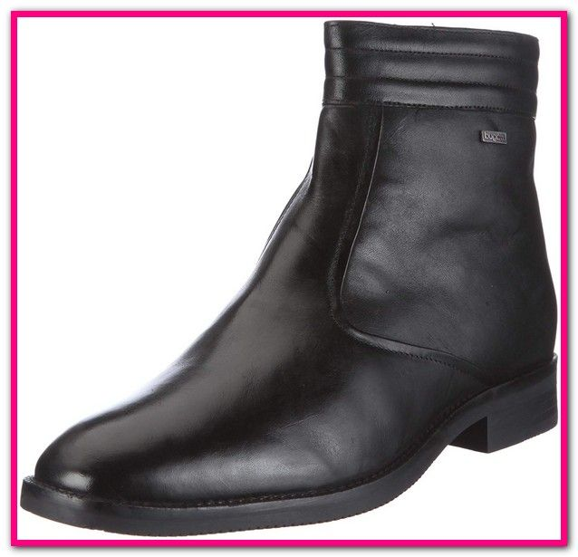 Bugatti Stiefeletten Herren Schwarz Chelsea Boots Boots Shoes