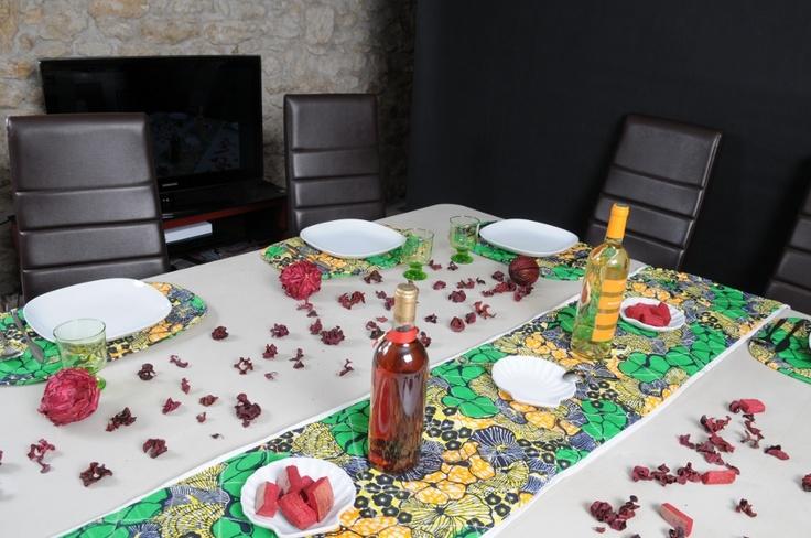 1000 images about waxindeco linge de table on pinterest - Set de table en tissu ...