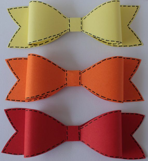 Unique Paper Bow Gift wrapper Bow gift topper by DesignedByMonika, $11.70