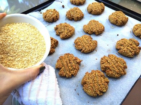 Ginger and Lupin Cookies