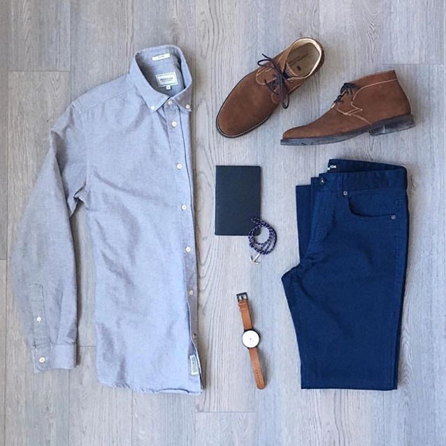 Follow @theshoegrid for daily shoe inspiration  ________________________________________ #SuitGrid by @mitchyasui ________________________________________  Tap 👉🏼📱For Brands #inisikpe Shirt/Trousers: @frankandoak Shoes: @martindingman1990 Watch: @instrmntlimited Bracelet: @dandysupply