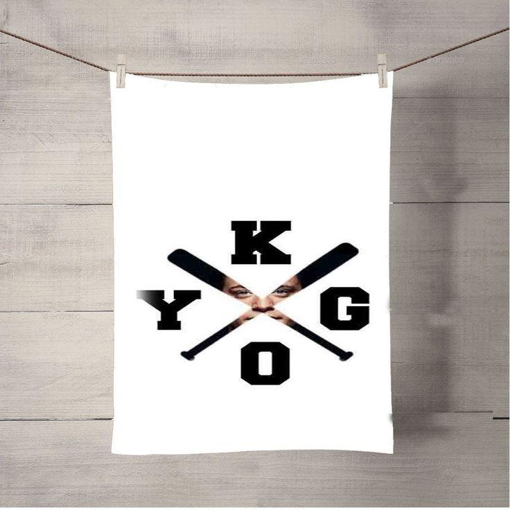 Kygo Logo Photo Masking Bath Towel Beach Towels