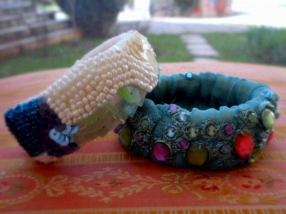 Bracelets 2 items by Vladi Lena by Vladilenashandmade on Etsy, $25.00