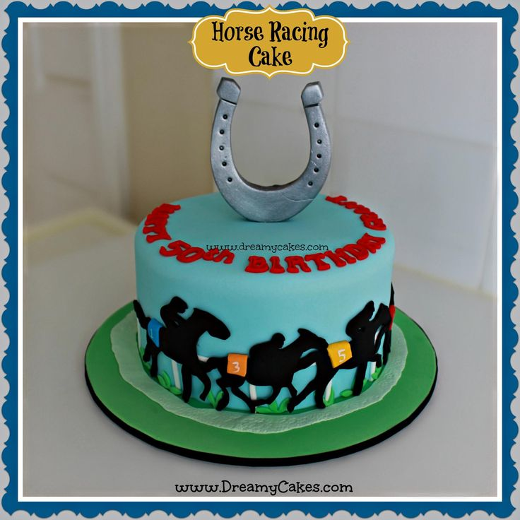 Cake Decorations Horse Racing : 17 Best images about Horse Theme Cakes on Pinterest ...