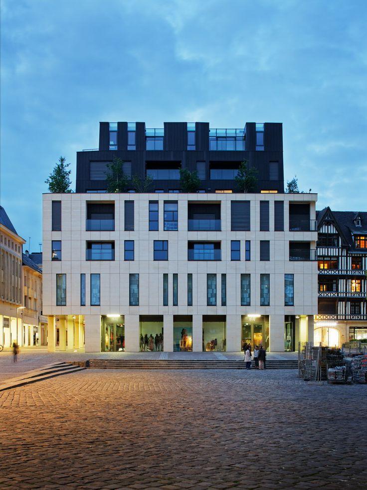 Jean-Paul Viguier Architecture . Projet . Espace Claude Monet