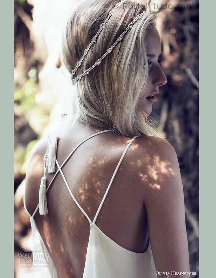 Veja nesta matéria lindas opções de acessórios para o cabelo da noiva