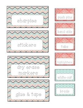 Download my free editable teachers toolbox labels!