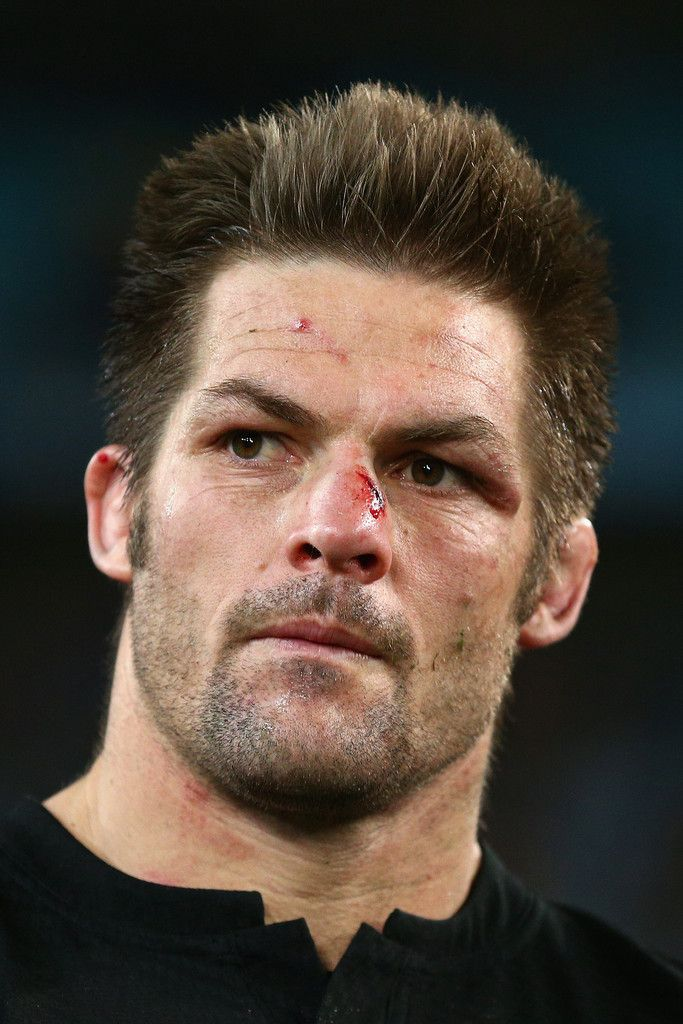 Richie Mccaw Photos Photos - All Blacks captain Richie McCaw looks on after losing the Rugby Championship match between the Australia Wallabies and the New Zealand All Blacks at ANZ Stadium on August 8, 2015 in Sydney, Australia. - Australia v New Zealand - The Rugby Championship