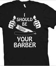 Barber T Shirt Graphic Tee L
