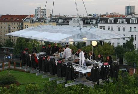 Dinner in the Sky - Belguim