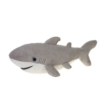 Large Great White Shark Stuffed Animal By Fiesta Animals Of The
