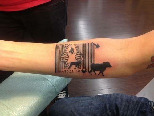 Run free, animals! | 21 Intense Vegan Tattoos