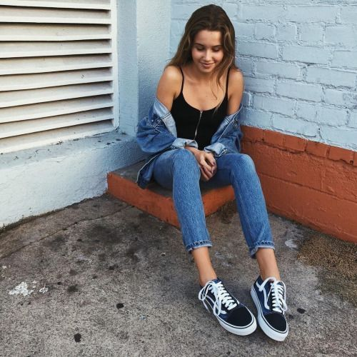 Best 25 Vans Outfit Ideas On Pinterest Black Vans Outfit Jean Outfits And Simple Casual Outfits