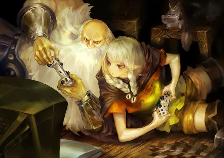 Dragon's Crown - Dwarf and Elf gaming!