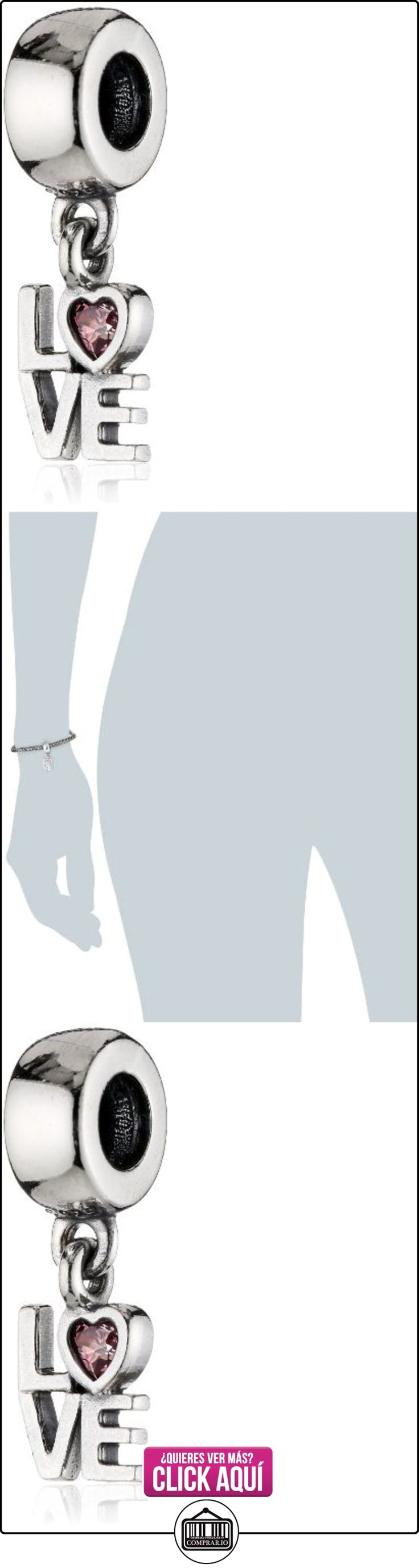 Pandora 791253CZS - Abalorio de plata de ley con circonita  ✿ Joyas para mujer - Las mejores ofertas ✿ ▬► Ver oferta: http://comprar.io/goto/B00HU8SHR8