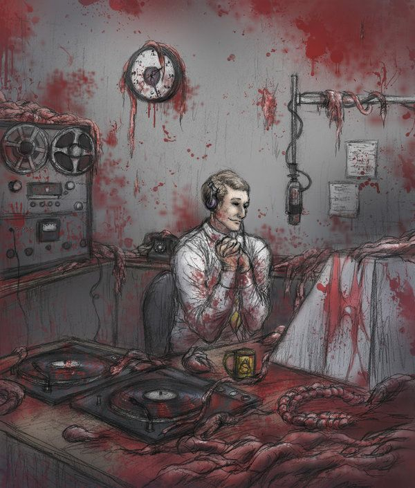 Not the best Kevin I've ever seen but this really captures the horror of his studio. (ejbeachy.deviantart.com on @deviantART)
