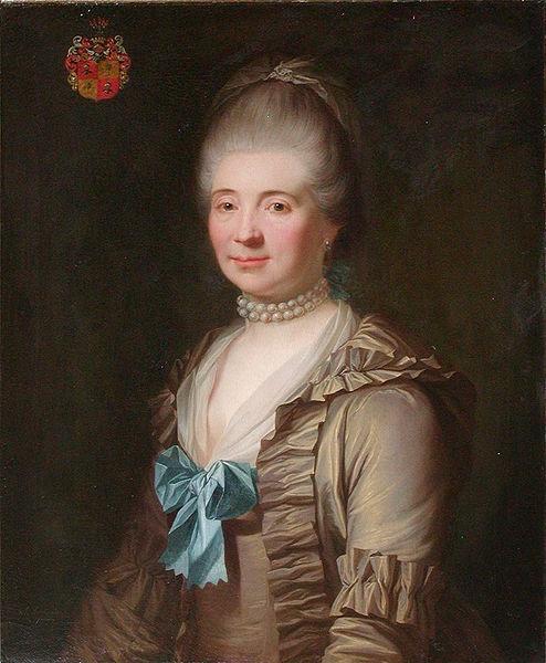 """""""Magdalen Charlotte Hedevig Numsen"""", Jens Juel, 1772; Frederiksborg Castle"""