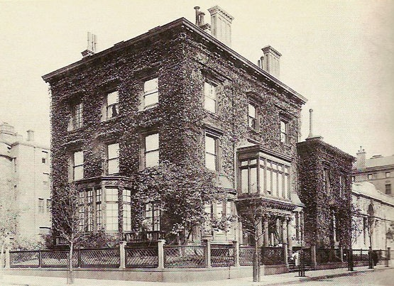 J. P. Morgan's house on Madison Avenue and 36th Street., NY, NY  | More here: http://mylusciouslife.com/historical-books-reading-list-british-american-social-history/