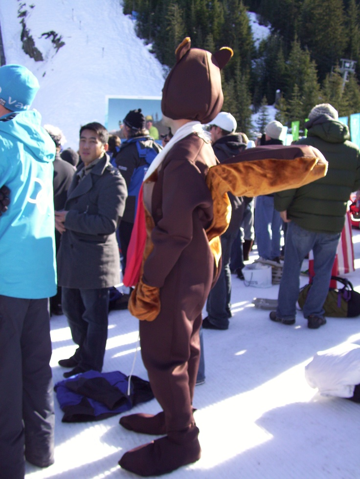 beaver is everywhere in Canada, even at the Olympics, Whistler, February 2010 -