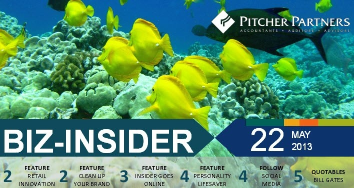BizInsider newsletter www.jr.com.au/bizlink