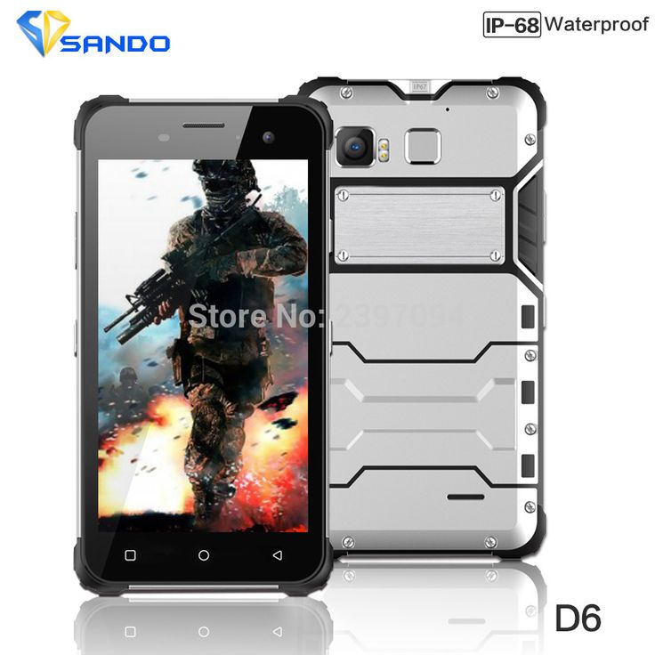 2016 Newest Rugged Phone D6 IP68 Octa Core Android 6.0 Waterproof 4G LTE Dual Sim Shockproof 4G RAM 64G ROM 13MP NFC Fingerprint