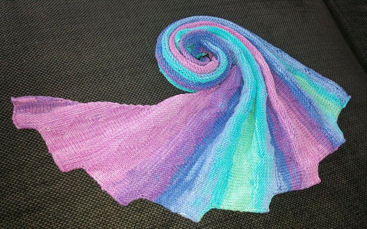 """Kostenlose Anleitung / free pattern Drachenschwanz / dragon tail """"Diamond"""" - Stricken / Knitting"""