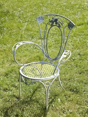 Great French Country Decor Site:living.msn.com | Salteriniu0027s French Provincial  Chair / · Iron Patio FurnitureMetal ...