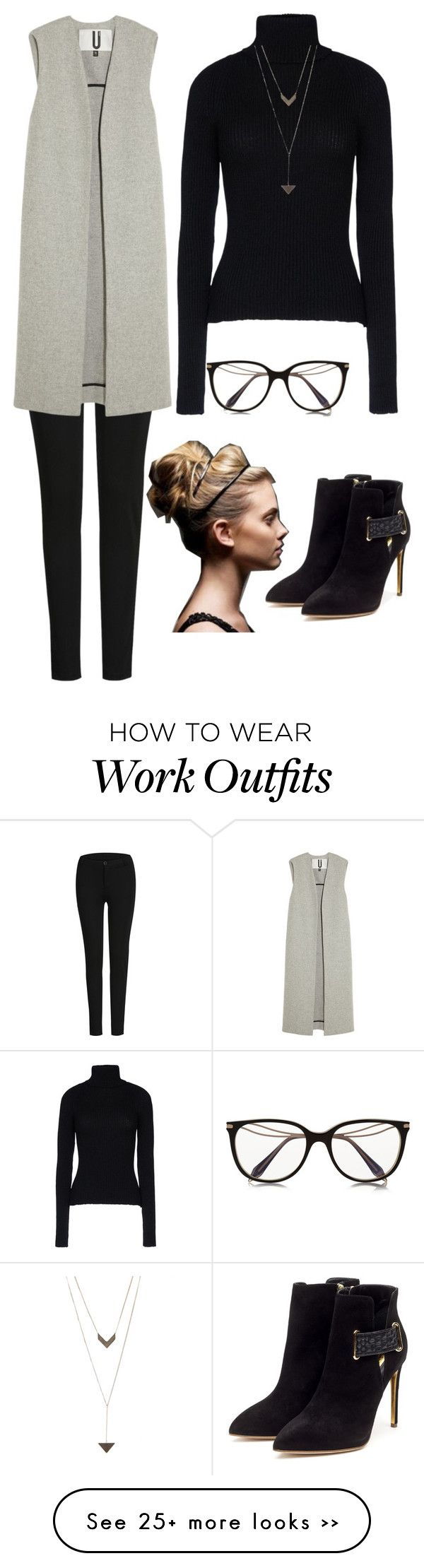 """chic officewear"" by headiedev on Polyvore"