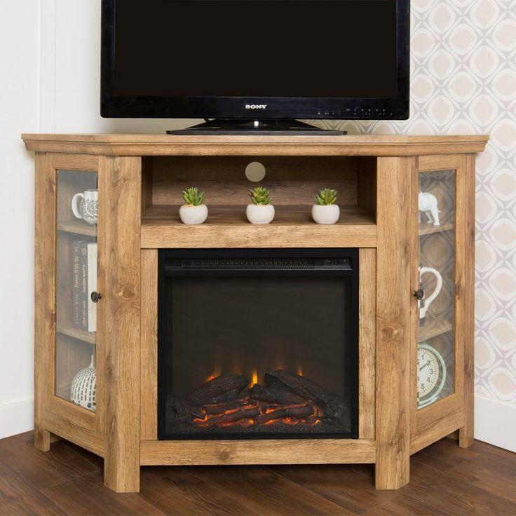 Corner Fireplace Tv Stands | Show Home Design