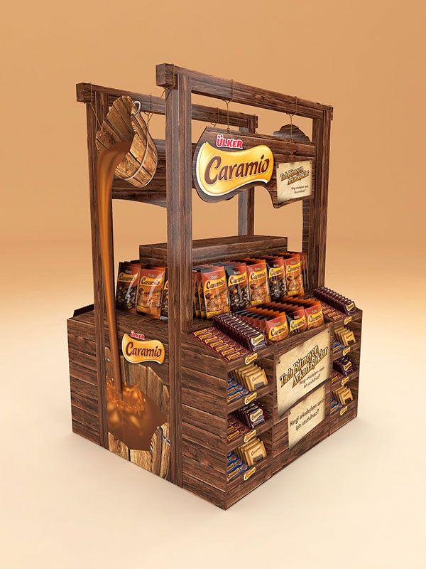 Ülker Caramio Stand Design on Behance