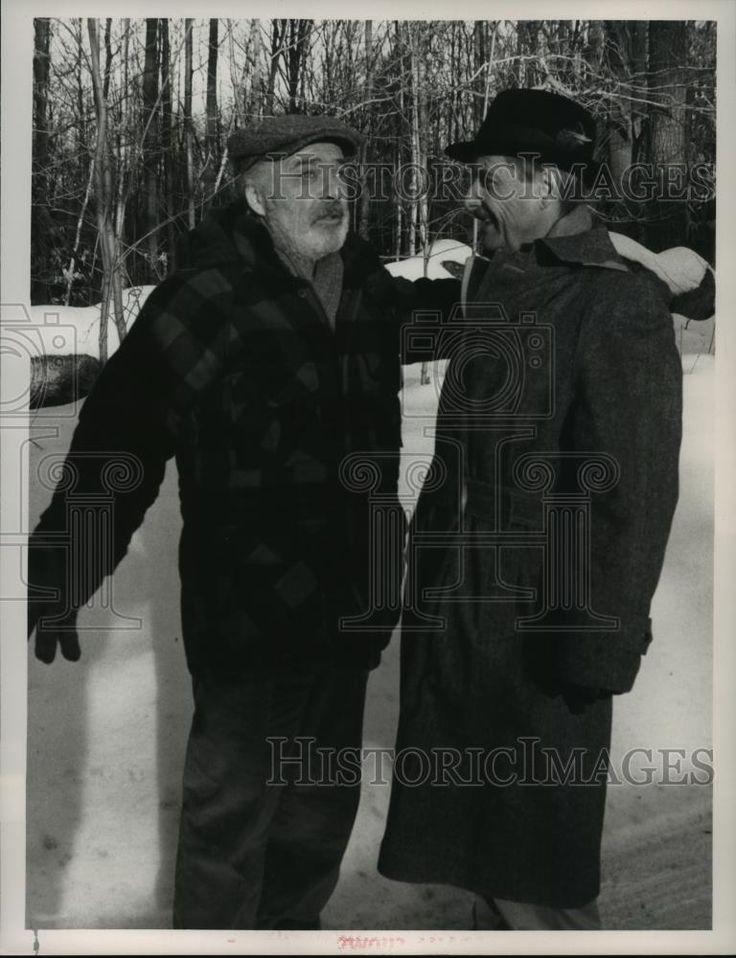 1988 Press Photo Ed Flanders and William Daniels star on St. Elsewhere, on NBC.   eBay