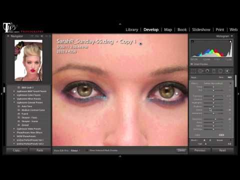 ▶ How To Do A Complete Portrait Retouch in Lightroom 5 - YouTube w/ Terry White  An extensive 32 minute teach different techniques retouching a portrait.