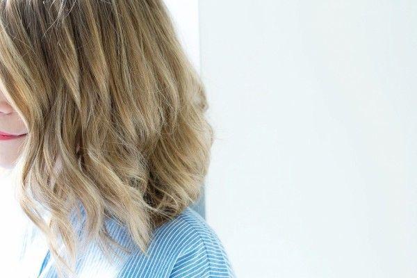 tuto coiffure carré wavy cheveux bouclés résutat