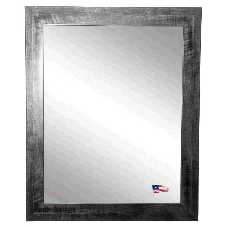 Rayne Mirrors Black Smoke Traditional Wall Mirror - V045