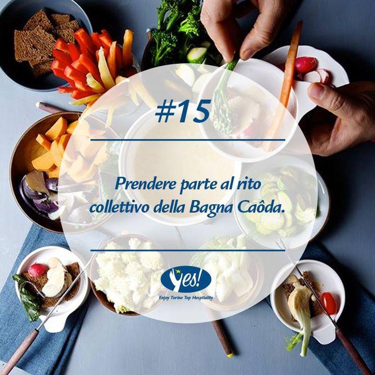 Una specialità torinese assolutamente da vivere e... gustare! #Torino  #bagnacaoda #piemonte #cibo #food #verdure #salsa